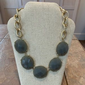 14th and Union chunky faceted acrylic statement